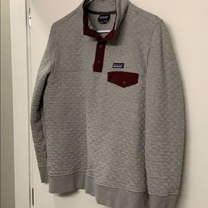 Patagonia Jackets & Coats - Patagonia quilted half button sweatshirt